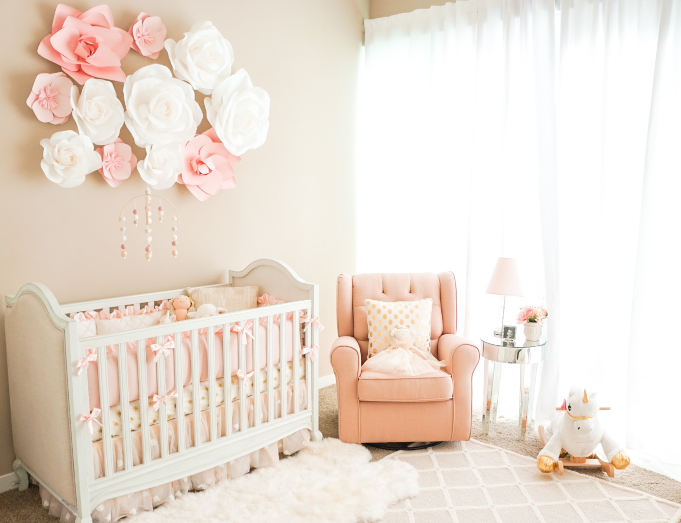 Lifestyle Blogger Katelyn Jones Of A Touch Pink Shares Her Baby S Nursery Decorations