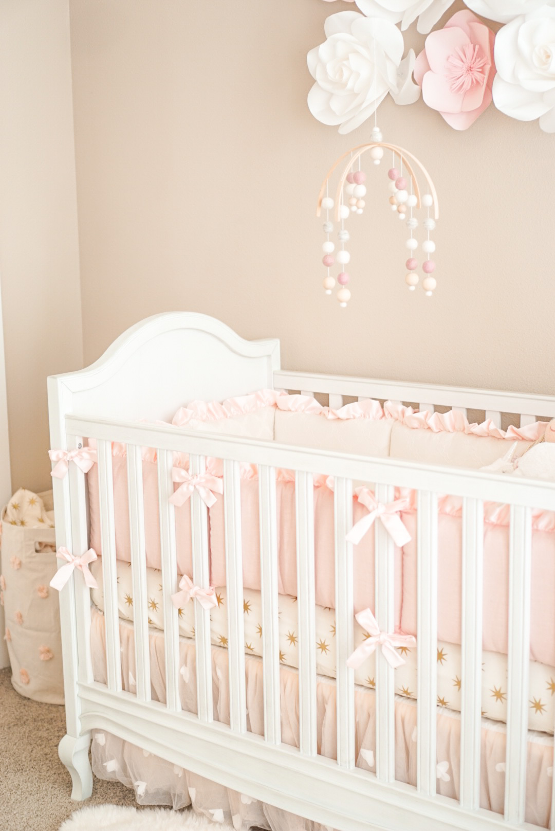 My Baby Girl S Nursery A Touch Of Pink