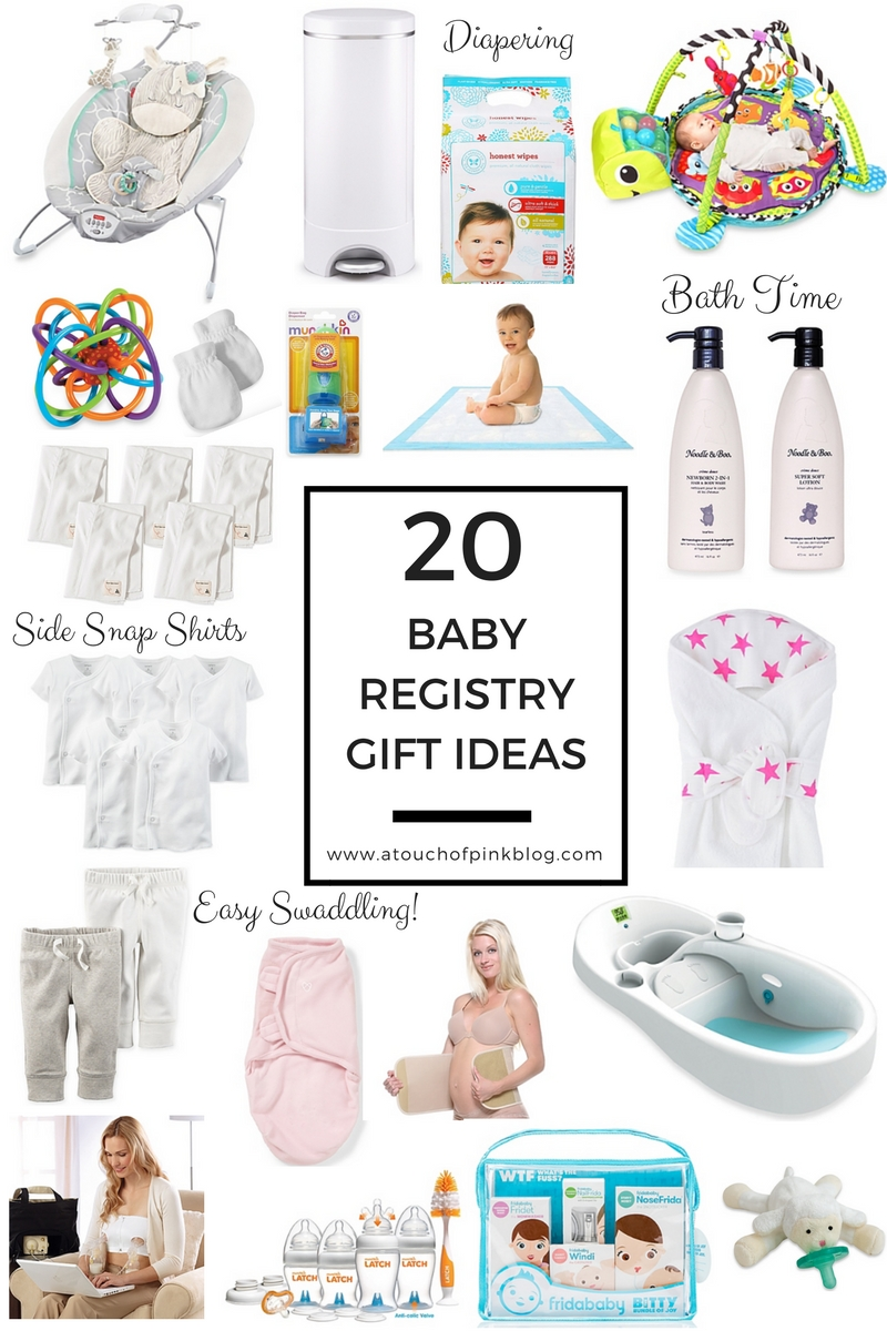 Top 20 Baby Registry Gift Ideas A Touch Of Pink