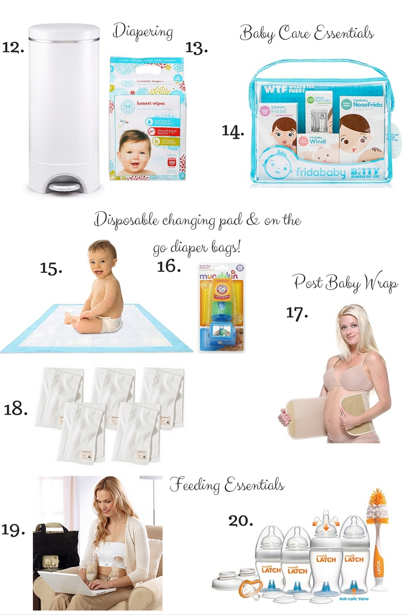 TOP 20 BABY REGISTRY GIFT IDEAS    - A Touch of Pink