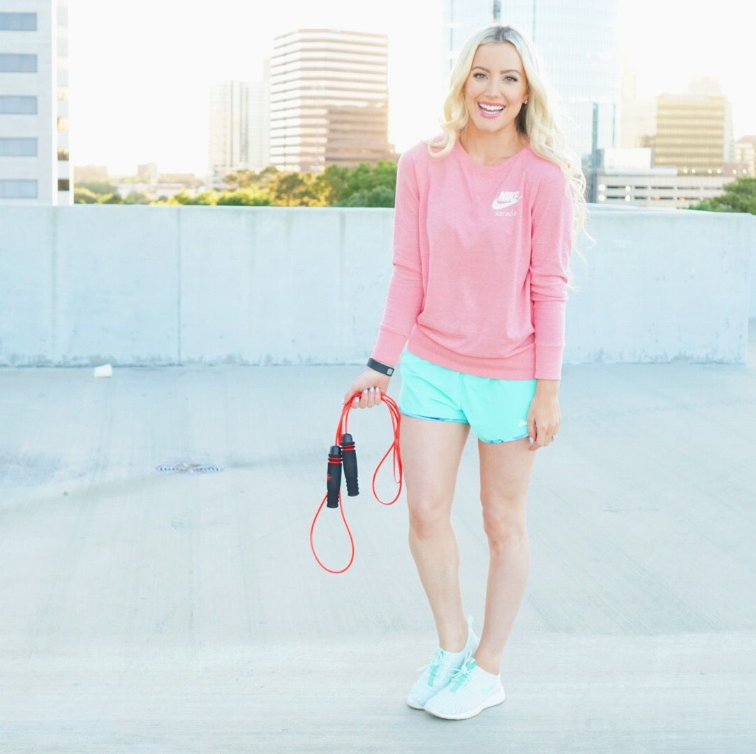 Katelyn Jones A Touch of Pink Blog Epitomie Fitness PowerSkip Jump Rope Amazon