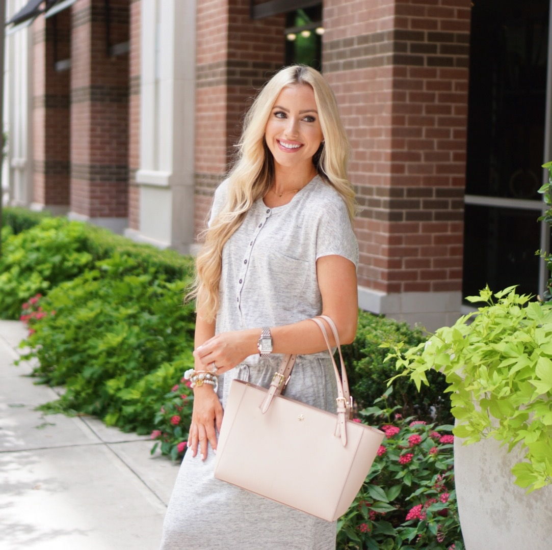 Katelyn Jones A Touch of Pink Blog Summer Outfit Michele Watch Nordstrom