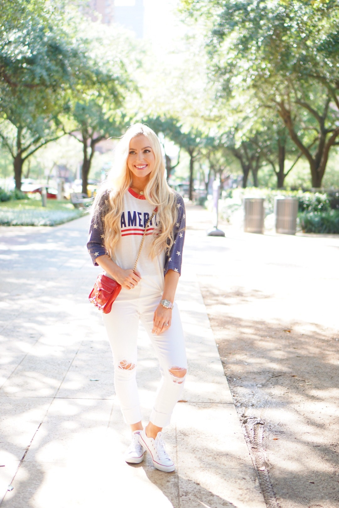 Katelyn Jones A Touch of Pink Blog Fourth of July Outfit Ily Couture