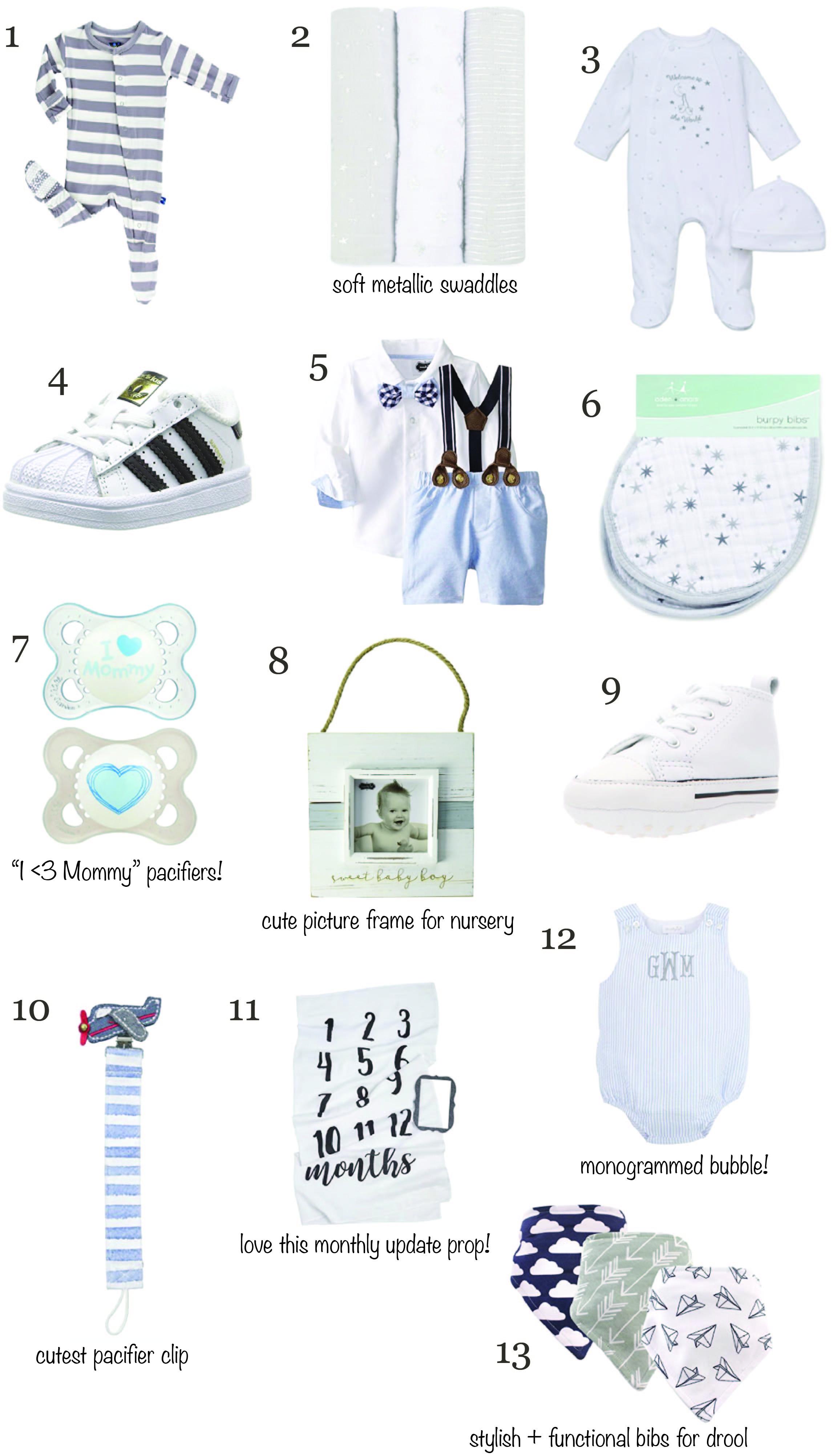 Baby Boy Essentials