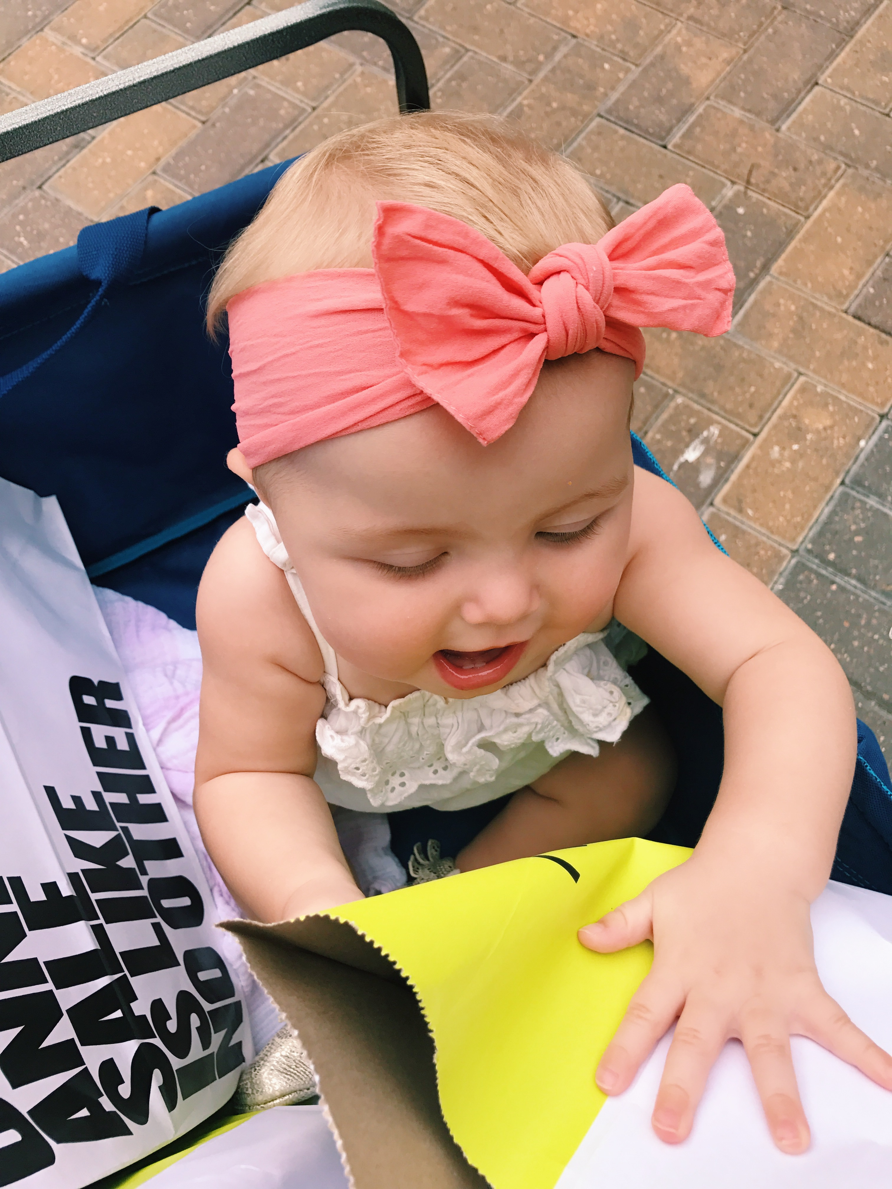 Katelyn Jones A Touch of Pink Blog Nordstrom Anniversary Sale 2017 Baby Bling Bows