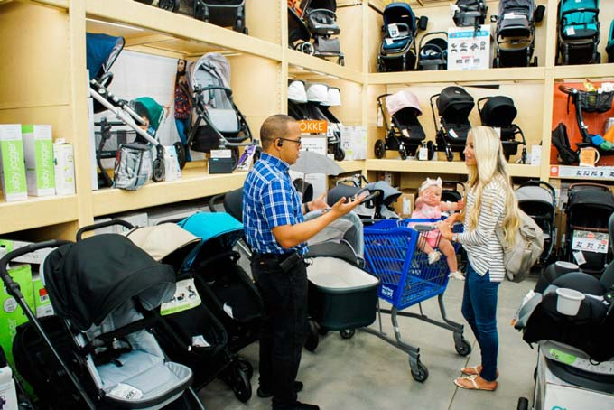 Katelyn Jones A Touch of Pink Blog buybuy BABY Deciding Which Double Stroller to get