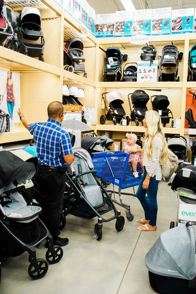Shopping For A Stroller At Buybuy Baby A Touch Of Pink