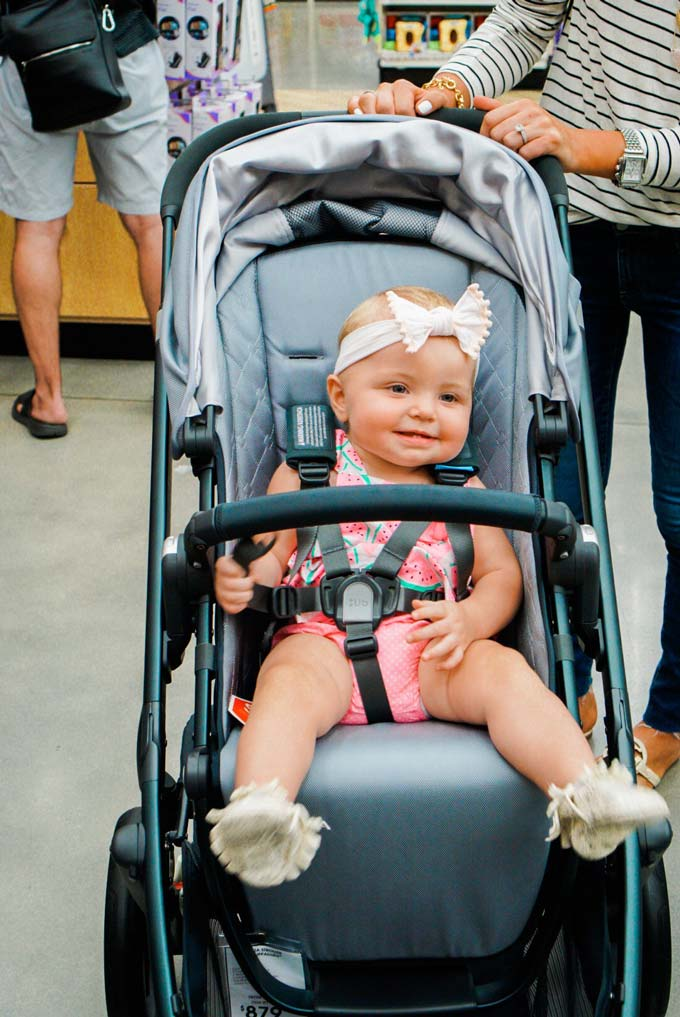 Katelyn Jones A Touch of Pink Blog buybuy BABY Stroller Shopping Uppababy Vista