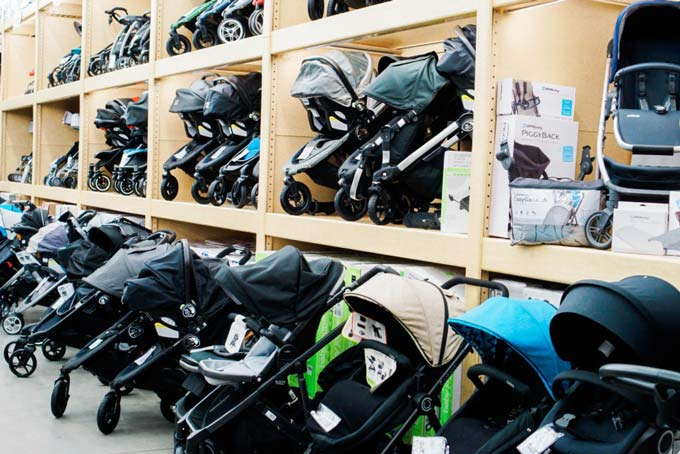 Katelyn Jones A Touch of Pink Blog buybuy BABY Stroller Shopping Katy Texas