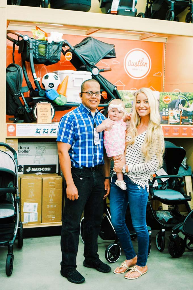 Katelyn Jones A Touch of Pink Blog buybuy BABY Stroller Shopping