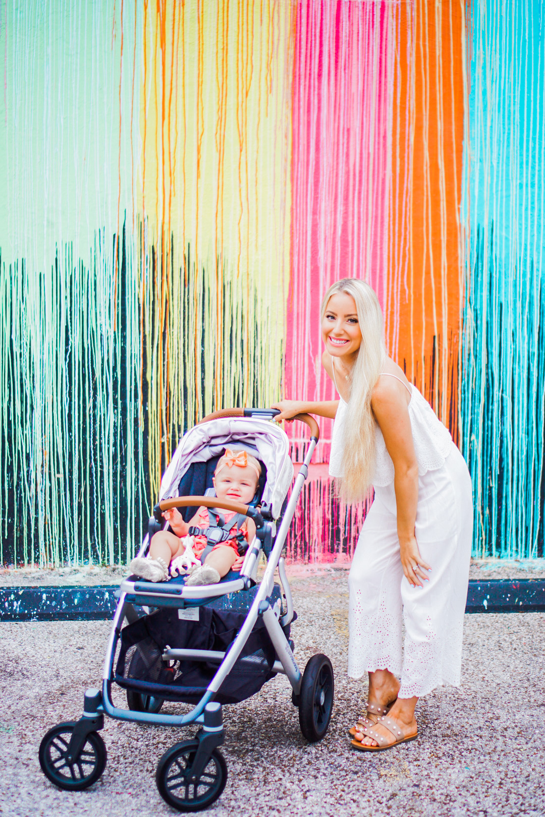 Katelyn Jones A Touch of Pink Blog 2017 Uppababy Vista Stroller Review buybuybaby