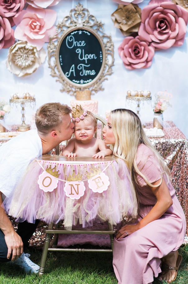 Once Upon A Time 1st Birthday Party A Touch Of Pink