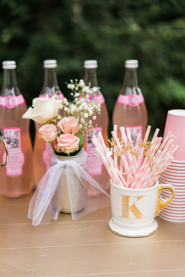 Katelyn Jones A Touch of Pink Baby Birthday Straws Decorations Refreshments