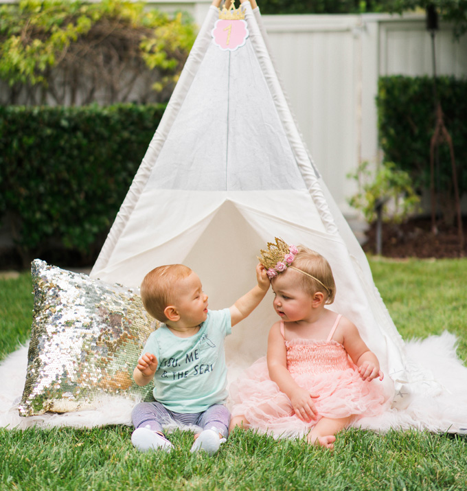 Katelyn Jones A Touch of Pink Baby Girl Birthday Land of Nod