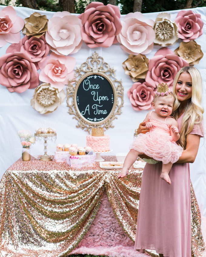 Katelyn Jones A Touch Of Pink Baby Girl Birthday Land Of Nod Once