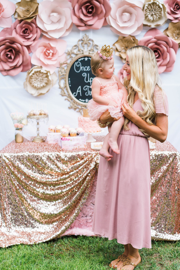 Katelyn Jones A Touch of Pink Bday Photo Backdrop