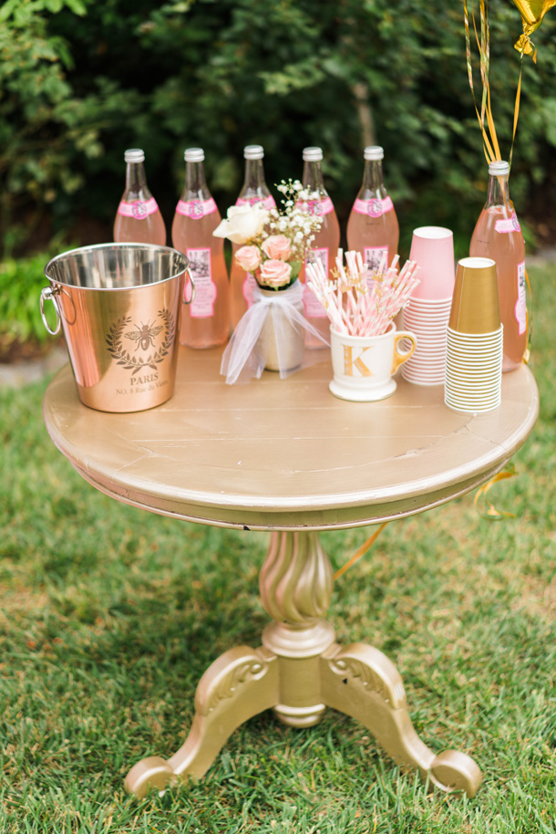 Katelyn Jones A Touch of Pink Birthday Party Refreshments