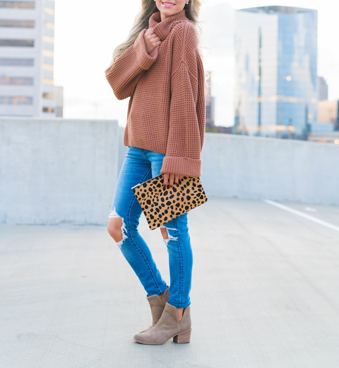 Katelyn Jones A Touch Of Pink Blog Evereve Fall Outfit
