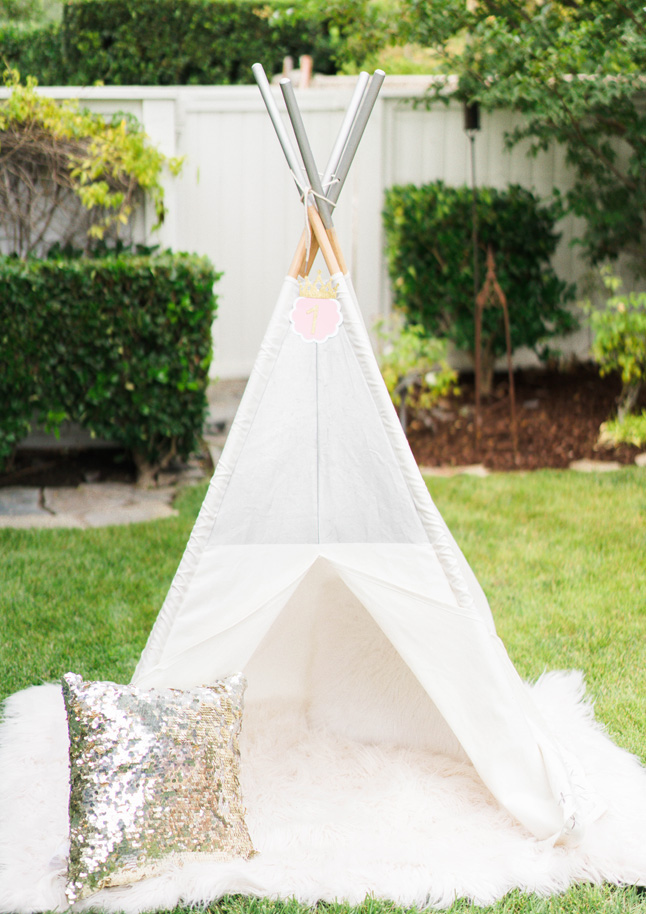 Katelyn Jones A Touch of Pink Land of Nod Teepee