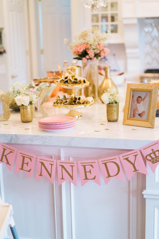 Katelyn Jones A Touch of Pink Refreshments White Kitchen