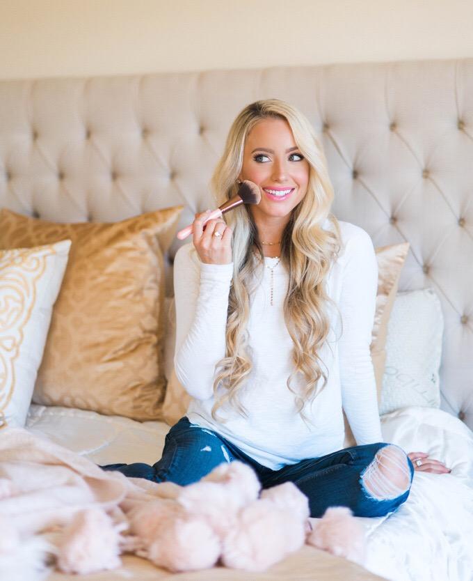 Katelyn Jones A Touch of Pink Blog Nordstrom Makeup Charlotte Tilbury
