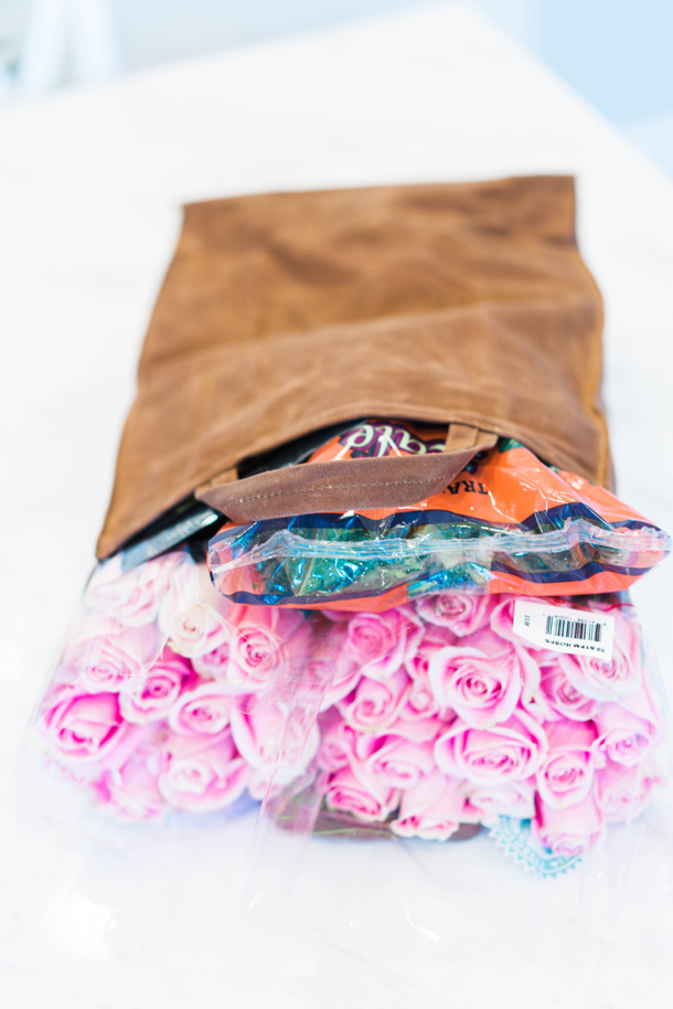 Katelyn Jones A Touch of Pink Blog Olli Bags Black Friday Sale Reusable Bags Waxed Canvas