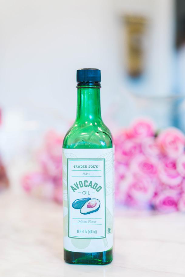Katelyn Jones A Touch of Pink Blog Trader Joe's Grocery Haul Favorites avocado oil