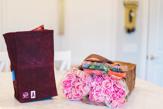 Katelyn Jones A Touch of Pink Blog Olli Bags Black Friday Reusable Bags Waxed Canvas