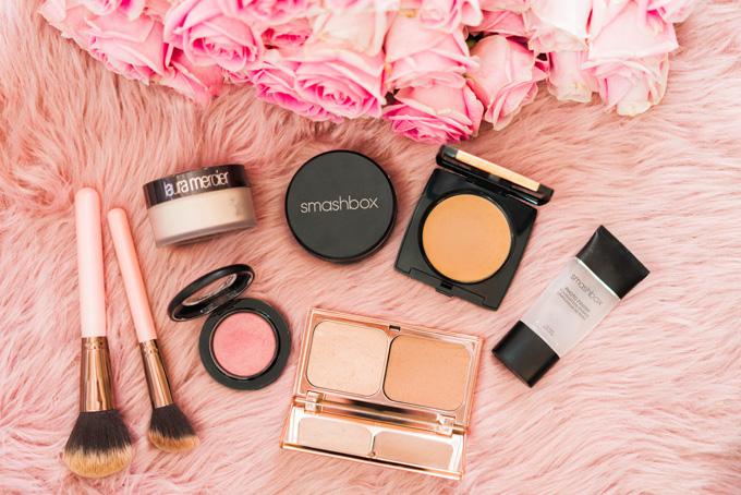Katelyn Jones A Touch of Pink Blog Nordstrom Makeup Charlotte Tilbury Smashbox Halo Powder