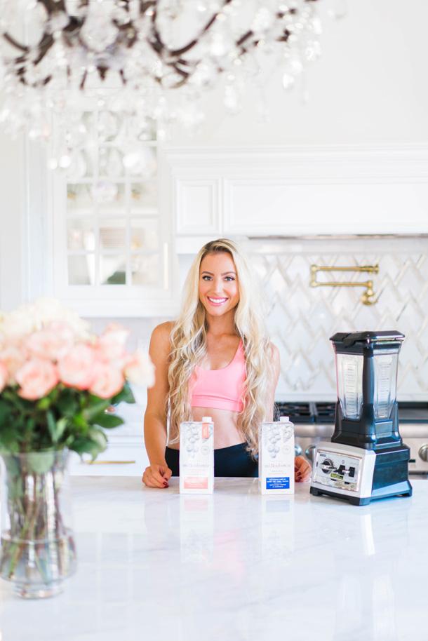 Katelyn Jones A Touch of Pink Blog Milkadamia Lactose Free Macadamia Milk