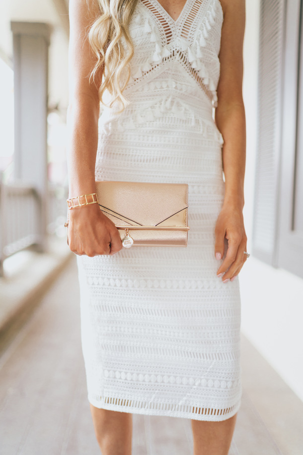 Perfect Little White Dress A Touch Of Pink