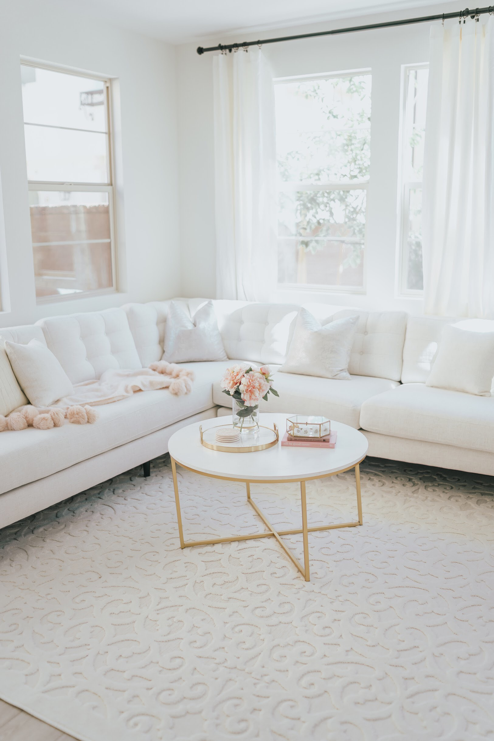 Inexpensive Modern Farmhouse Rugs A Touch Of Pink